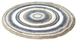 circle shaped rug