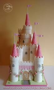 Princess Castle Cake Party Ideas Castl