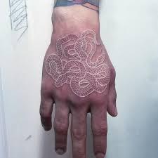 Spletitá černobílá Tetování Jako Jedinečný Podpis Umělce