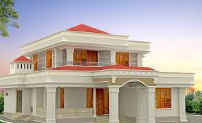 gorgeous design home. Indian Home Design For Two Levels House : Gorgeous Using Traditional Ideas With