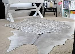 grey cowhide rug  roselawnlutheran