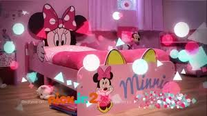 Minnie Mouse Bedroom Minnie Mouse Snuggletime Toddler Bed Closer Youtube