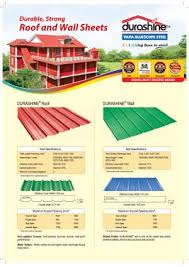 Tata Cgi Sheet Weight Chart Durashine Color Coated Profile Sheet Tata Bluescope Steel