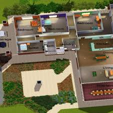 sims 3 house plans sims 3 modern house plans cool house
