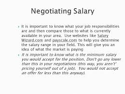 Unit 8 Seminar Job Offer Review Of Unit 7 After The Interview