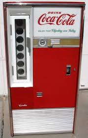 Coke Bottle Vending Machine Beauteous Coca Cola Vendo 48 BottleServing Machine The Kind That You Put The