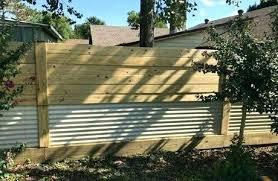 sheet metal fence sheet metal fence sheet metal fencing corrugated metal fence plans sheet metal privacy