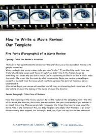 how to write a movie review essay how to write a movie review professay blog