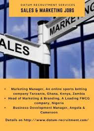 Business Development Jobs In Africa Datum Recruitment Com
