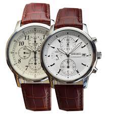 get ations japan imports seiko seiko luminous chronograph men s watch really belt waterproof quartz couple watches sndc31j1