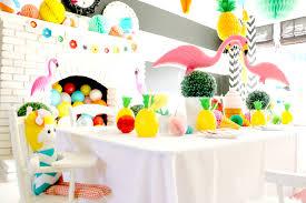 color splash 3rd birthday party beach