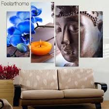 Paintings In Living Room Online Buy Wholesale Buddha Wall Paintings Home Decor Living Room