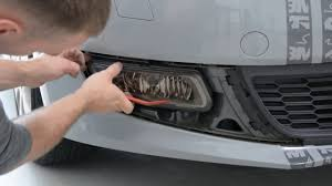 Volkswagen Car With Screw Light Fog Light Removal Vw Polo 6r