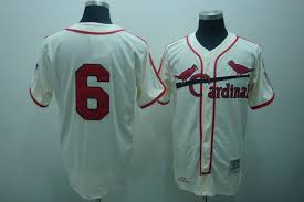 Musial 6 Mitchell Cream Stan Throwback Baseball And Stitched Jersey Ness Cardinals|Save Gas This Summer