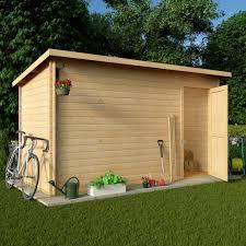 garden office 0 client. BillyOh 12 X 6 Pent Log Cabin Windowless Heavy Duty Shed Garden Office 0 Client
