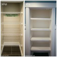 Surprising Design How To Build Wood Closet Shelves Exquisite Ideas Replace  Wire With DIY Custom The