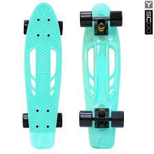 "<b>Y</b>-<b>Scoo Skateboard Fishbone</b> с ручкой 22"" - <b>скейтборд</b> с ручкой и ..."