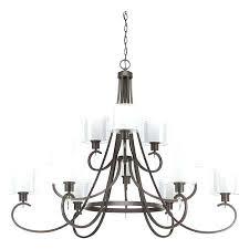 3 tier chandelier progress lighting invite light w antique bronze capiz 3 tier chandelier