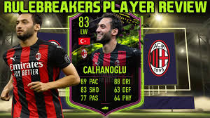 THE MAESTRO! 83 RULEBREAKERS CALHANOGLU PLAYER REVIEW! FIFA 21 ULTIMATE  TEAM - YouTube