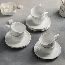 Кофейная пара 70 мл «Белла», <b>блюдце 12 см</b> (4491330) - Купить ...