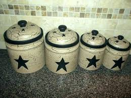 black canister sets for kitchen rustic primitive le painted set of 4 canisters mason kitchen canisters for flour and sugar canister set rustic