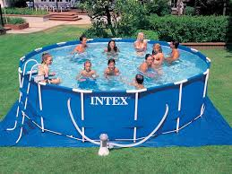 intex ultra frame above ground pools. Exellent Frame On Intex Ultra Frame Above Ground Pools U