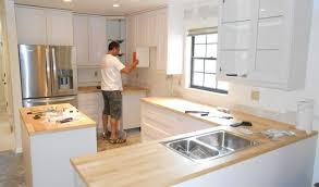 Small Picture Labor Cost To Install Kitchen Cabinets Best Cost Of New Kitchen