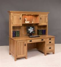 office desk hutch plan. Amish Large Mission Computer Desk With Hutch Top--This Beautiful Features 100% Office Plan D