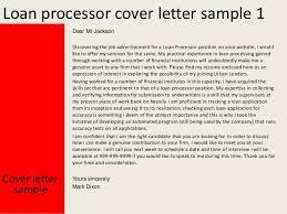 loan processor cover letter sample sample resume for loan processor