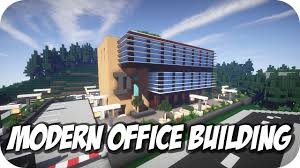Minecraft | Modern Office HD Download  YouTube