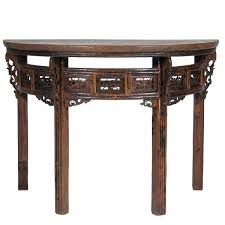 semi circle entryway table half round entry amazing of with plain console and decorating ideas foyer semi circle entry table