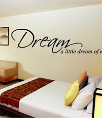 dream on wall art stickers quotes next with bedroom quotes from next wall stickers