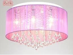 pink pendant light new shade crystal ceiling chandelier pendant light fixture lighting lamp led bulbs pink