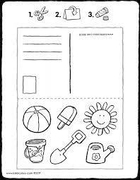 Vakantie Colouring Pages Kiddicolour