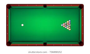 pool table clipart side view. Contemporary View Top View Of Billiard Table And Balls Vector Illustration Intended Pool Table Clipart Side View