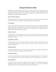 Executive Summary Outline Executive Summary Outline Template Beauty Salon Business