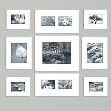wall gallery frame set white gallery frames set gallery frame set with perfect 9 piece picture
