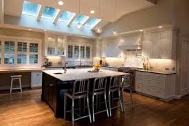pitched ceiling lighting. Vaulted Ceiling With Glass Skylight Using Pendant Lighting Pitched