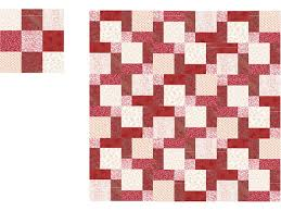 Easy Disappearing Nine Patch Quilt Pattern & Strip Piece Blocks for a Disappearing Nine Patch Quilt Adamdwight.com