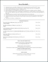 Massage Therapist Resume Occupational Therapy Resume Examples ...