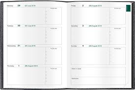 Academic Weekly Calendar Life Noted Academic Catalog Quo Vadis Planners Journals