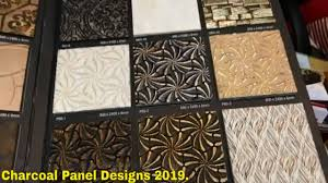 Charcoal Sheet Wall Design Charcoal Panel Designs 2019 Charcoal Catalogue Design Video In Hindi