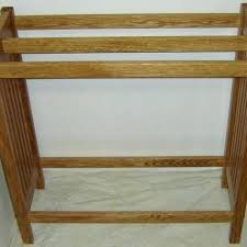 quilt shelf made new solid oak wood mission style quilt rack stand blanket stand mission style