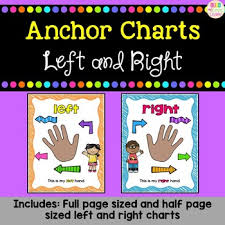 Left Right Chart Left Right Anchor Charts Freebie