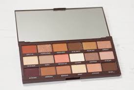 i heart revolution s chocolate eyeshadow palette review and swatches a eyeshadow palette with