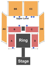 Criterion Oklahoma City Seating Chart The Criterion Tickets In Oklahoma City Oklahoma The