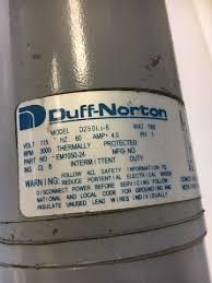 duff norton d250l2 6 actuator tal05 1a10 8 stroke 8 capacity 500lb duff norton d250l2 6 actuator tal05 1a10 8 stroke 8 capacity 500lb warranty