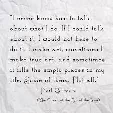 Neil Gaiman Quotes Enchanting Quote Of The Week Neil Gaiman Ingrid Sundberg
