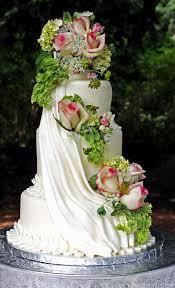 Cascading Flowers Cake Design Savor The Best