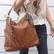 NWT COACH LARGE TAN BROWN LEATHER HOBO SHOULDER BAG CROSSBODY PURSE HANDBAG  TOTE  Coach  Hobo